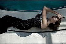 Tribute to DAVID HOCKNEY / The Swimming Pool.  Rendez-vous de la Mode N. 03 Alta Moda Autunno/Inverno 2013-2014. Fotografo Ciro Zizzo Styling Cori Amenta