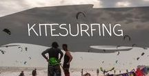 ~ KITESURFING ~ / We have just starting to learn Kitesurfing, and love it!