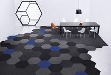 Collection: Hexagon / Hexagon Carpet Tiles: DESIGN IS NETWORKED  This new shape of carpet tile design will change the way you move through a space, veer you off the beaten path and encourage collaborative chemistry. Build a social hive. Form new communities.