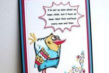 Crazy Birds Cards
