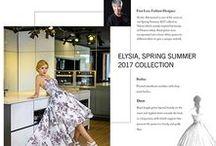 Enya Mareine Fashion Week 2016 / #Wedding #gowns #collection.