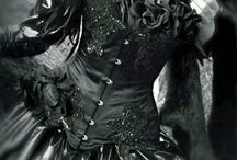 gothic dark elegant love / some dresses love