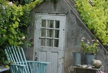 Green houses and potting sheds