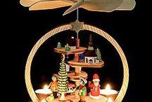Weihnachtspyramiden / Mehr wundervolle Weihnachtspyramiden findet ihr auf www.erzgebirge-palast.de