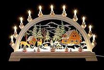 Schwibbögen / Wunderschöne, handgearbeitete Schwibbögen aus dem Erzgebirge finden Sie auf www.erzgebirge-palast.de