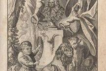 """Fables de La Fontaine - Recueil 1, Livre 1 / Fables of Jean de La Fontaine - illustrations 1765 edition - """"Fables Choisies"""""""