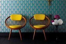 Křesla, židle, gauče, sofy
