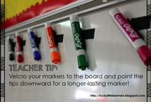 Teacher Hacks / Creative ways to maximize productivity and access in your classroom.