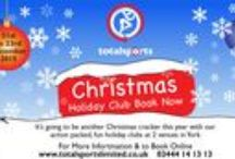 Christmas Holiday Clubs / Join us in #York this #Christmas for our school #HolidayClubs - at Archbishop Holgate's Secondary School & Manor CE School. 3 days of active and festive fun!
