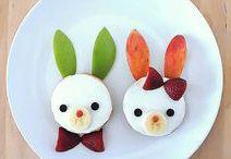 Essen für Kinder anrichten / Kinder lieben es, wenn Essen hübsch angerichtet ist. Das Auge isst eben mit!
