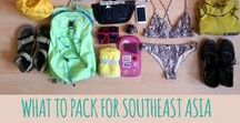 TRAVEL PACKING LISTS / backpacker list, packing list