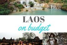 TRAVEL LAOS / Visit Laos Top things to see in Laos Budget tips Low cost travel Backpacking