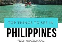 TRAVEL PHILIPPINES / Visit Philippines Top things to see in Philippines Budget tips Low cost travel