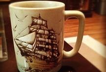 Coffee Mugs / uh coffee mugs I like / by Rachel Palmer