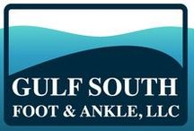 Gulf South Foot & Ankle / At Gulf South Foot & Ankle our doctors give comprehensive diagnoses and treatment plans for every patient. At our office we offer care for the diabetic foot, athletic foot, and are able to provide surgical care for you if needed.