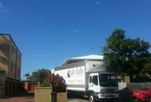 ab fab Hard at Work  / Showing the inner workings of a busy removalists business.