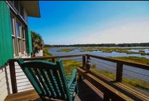 Porches with Views / Dewees Island has some great porches with even greater views