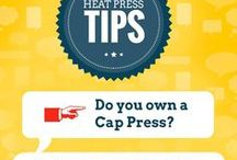 Heat Printing Tips & Tricks / Tips & tricks to make your heat press business more profitable and efficient.
