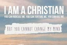 I am a christian! / Love God with all your heart!