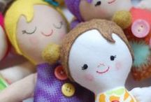 Bebekler / Handmade dolls