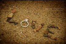 The Ring! / Showcasing creative photos of wedding and engagement rings taken by Connie Hackett Fine Art Photography.