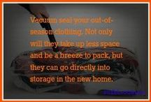 Moving Top Tips / Great ideas for when you move