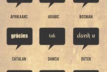 Multilingual / Learning languages