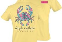 Simply Southern Tees / Simply Southern Collection. Shirts available in Small, Medium, Large, X-Large and XX-Large Long Sleeve shirts are arriving for the Fall!
