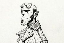 Linework / Linework and Sketches which are just awesome;  learing, sketching, concept, art, illustration, drawing, ink