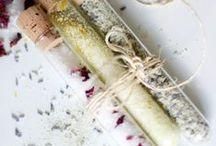 DIY Bad & Doucheproducten / Natuurlijke, zelfgemaakte badzouten en doucheproducten!