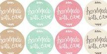 Productlabels / Mooie labels voor je zelfgemaakte producten!