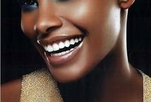I love black / Black beauty, black skin, portraits, photography, makeup, fashion photography
