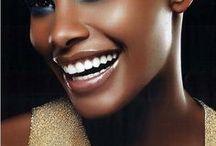 I love black / Black beauty, black skin, portraits, photography, makeup, fashion photography