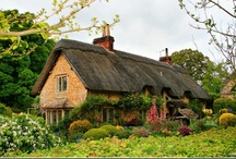 French / English / Irish Cottages and Gardens / by Sharon H