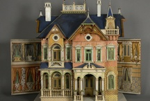 Dolls, Dollhouses and Vintage Toys / by Sharon H