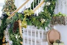 Lime Green Christmas / This playful theme uses lime green to lighten the look of Christmas.  Bright red makes for a great accent.