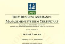 Drukkerij  / Professionals in Print & Druk, NEN-EN-ISO 9001:2008