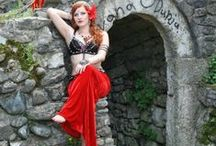 Red inspirations / belly dance