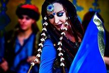Blue inspirations / belly dance