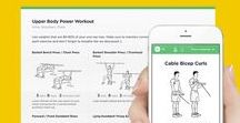 """Free Printable Workouts  / Browse, customize and print free illustrated visual routines created with our workout builder at http://workoutlabs.com/fit. Create yours and pin them via the """"Pin workout"""" button to share with others!"""