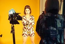 Behind the scenes  - new season 2014 / Shooting the Mayamiko-Designed collection