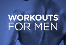 Workouts for Men  / Easy-to-follow visual workouts for guys – get bigger, leaner and stronger with our free illustrated workouts powered by WorkoutLabs Fit.