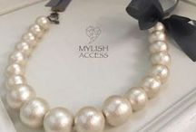 "mylish accessories  ""Necklace"" / 天然石を使ったネックレスで毎日をわくわくに♡"