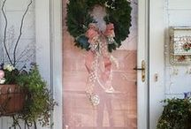 Pink Christmas / Inspired by Victorian Christmas Cards, Sugarplum Fairies, and everything sweet.  This charming color scheme can go soft and elegant with frosted pastels and silvers, or bold with pops of fuchsia.