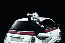 Haute couture & auto / Quelques images de la rencontre de la haute couture et du monde de l'automobile. Les résultats sont souvent bluffants et l'automobile devient tout à coup plus glamour...