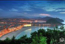 Donostia - San Sebastián / La ciudad más bonita del mundo Donostia-San Sebastián Gipuzcoa Pais Vasco