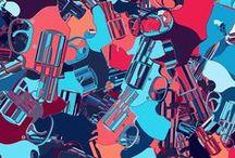 Pistols / Generative Art