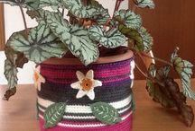 Crochet home / I miei lavori  uncinetto per la casa ...e altro