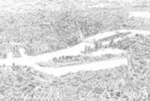 Art of Rotterdam / Een selectie van schilderijen en tekeningen gemaakt in opdracht voor particulieren en bedrijven.