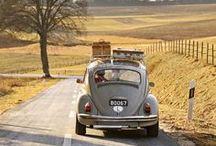 Sur la route des vacances / Quoi de plus agréable qu'une belle voiture pour aborder la route des vacances ? Beaux paysages, détente, voyage ! #ontheroad #vacances #hollidays #landscape #beautiful